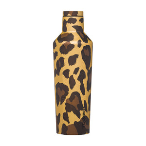 Luxe Leopard 16oz Canteen - The Quarterly