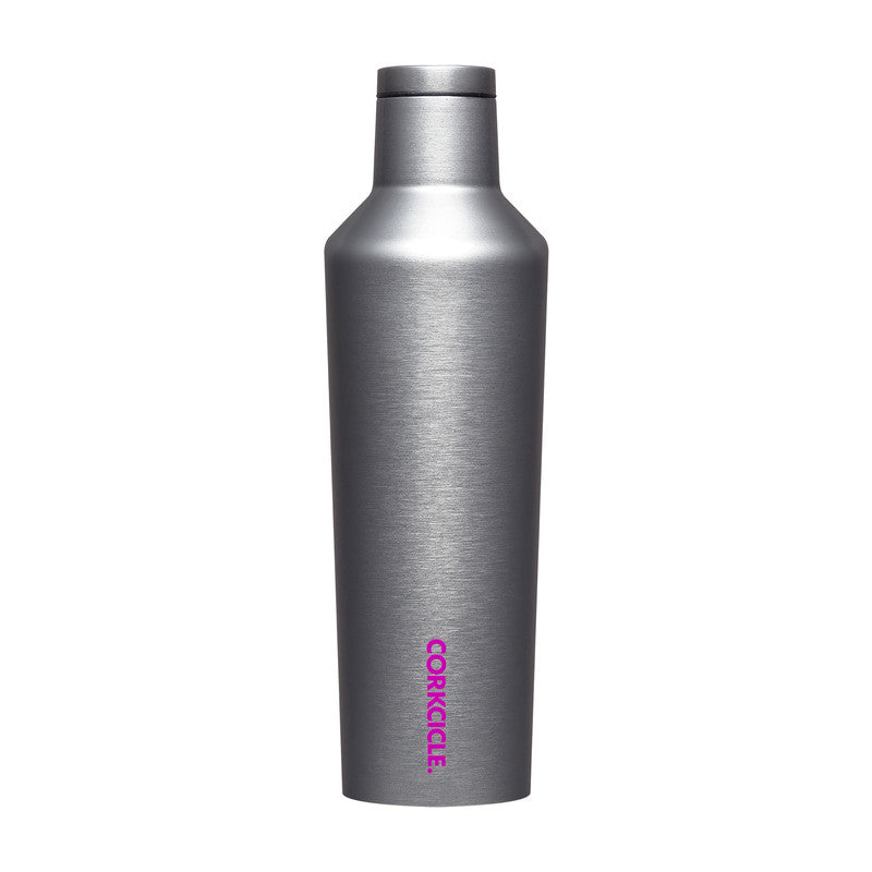 Silver Sparkle 16oz Canteen - The Quarterly