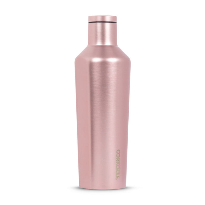 Rose Metallic 16oz Canteen - The Quarterly
