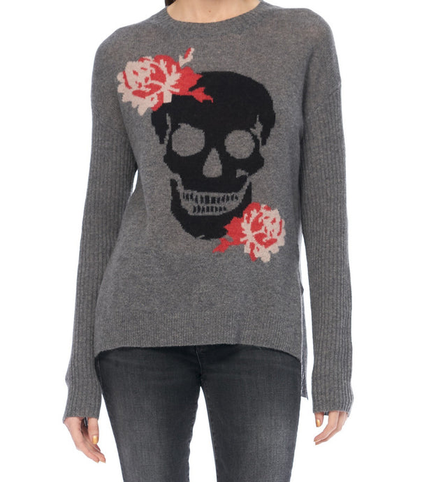 Rosye Cashmere Skull Sweater - The Quarterly