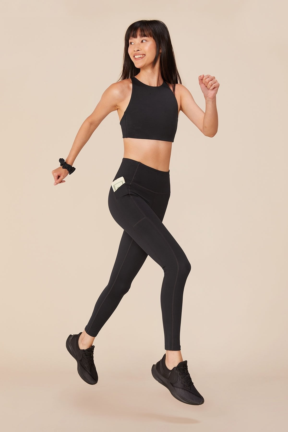 High Rise Compressive Pocket Legging 28.5