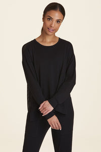 Heron Sweatshirt Black - The Quarterly