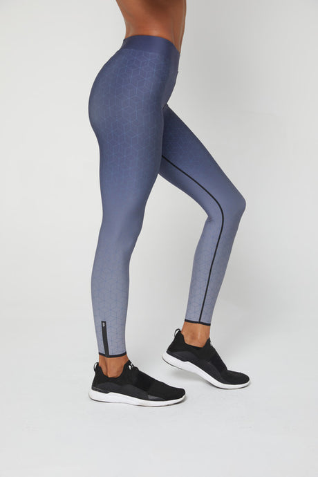 Soft Geo Legging - The Quarterly