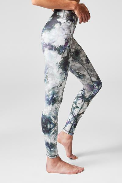 Riley Tie Dye Legging Hazel - The Quarterly