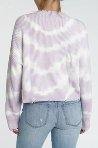 Eva Tie Dye Crop Sweater - The Quarterly