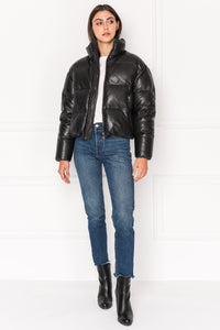 Iris Leather Puffer - The Quarterly