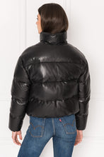 Load image into Gallery viewer, Iris Leather Puffer - The Quarterly