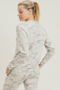 Snow Camo Sweatshirt - The Quarterly