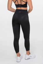 Load image into Gallery viewer, Make a Wish 7/8 Legging Black - The Quarterly