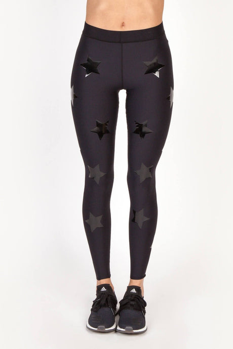 Ultra High Knockout Legging Black - The Quarterly