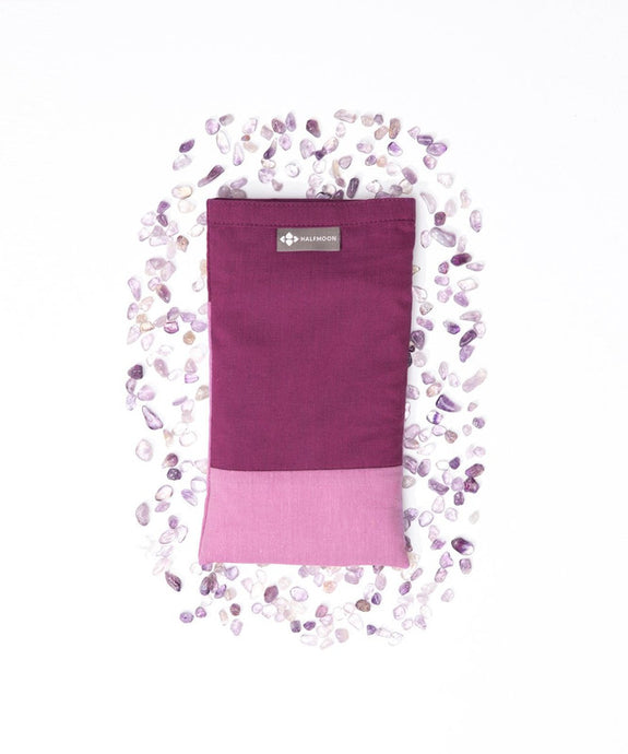 Crystal Quartz Collection Eye Pillow Amethyst - The Quarterly