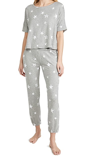 Sun Lover Star Lounge 2Piece Set - The Quarterly