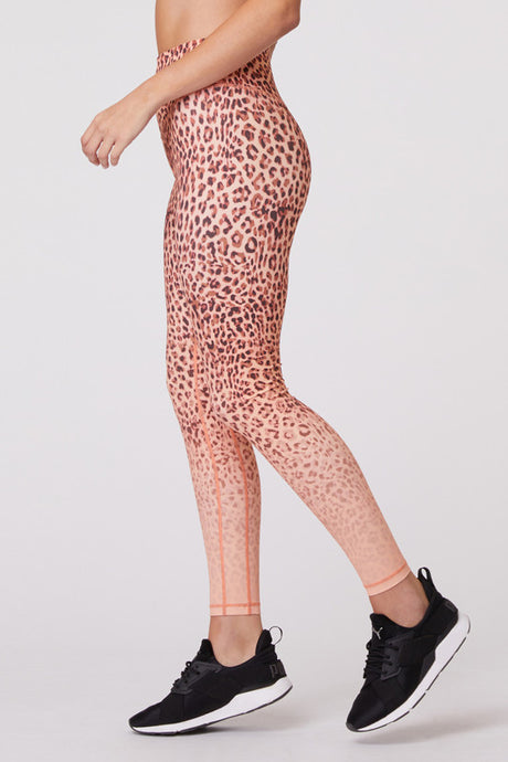 Into The Wild Leopard Gradient Legging - The Quarterly