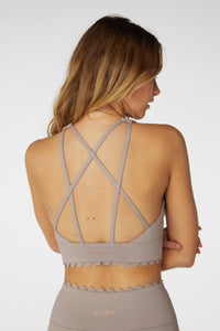 Make a Wish long line Scallop bra - The Quarterly
