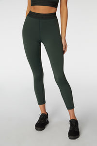 Tranquility Legging w/ Gunmetal Elastic - The Quarterly