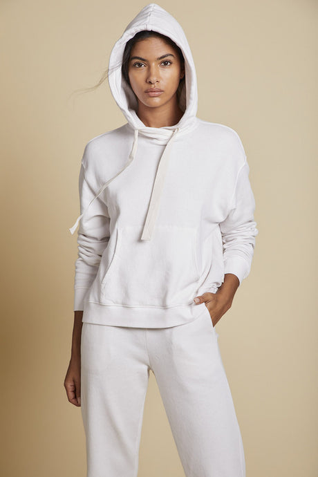 Organic Hoodie Sand - The Quarterly