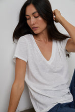 Load image into Gallery viewer, Jill City Slub V-Neck Tee - The Quarterly