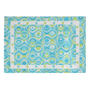 "ASL Merchandise ""ILY Swirl"" Glass Cutting Board"