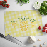 "ASL Merchandise ""ILY Pineapple"" Glass Cutting Board"
