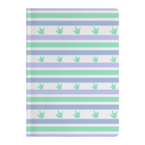 "ASL Stationery ""ILY Striped"" Paperback ASL Journal"