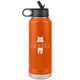 "ASL Merchandise ""Cat Lover"" Personalized ASL Water Bottle 32oz"