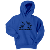 "Sign Language Hoodie ""Sign Power"" Youth Pullover ASL Hoodie 2"
