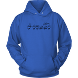 "Sign Language Hoodie ""Personalized"" Unisex Pullover ASL Hoodie 2"