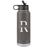 "ASL Merchandise ""Custom ASL"" Personalized ASL Water Bottle 32oz"