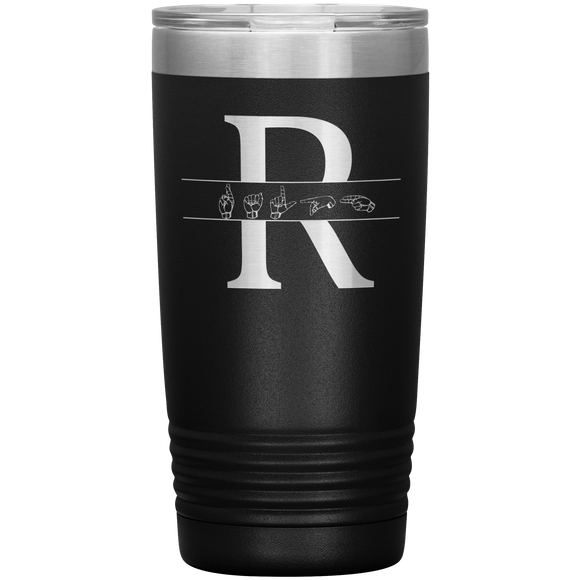 Sign Language Tumbler
