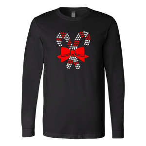 "Holiday ""ILY Candy Cane"" Unisex Long Sleeve ASL T-Shirt"
