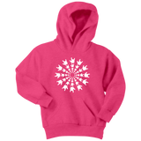 "Sign Language Hoodie ""ILY Burst"" Youth Pullover ASL Hoodie"
