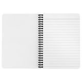 "ASL Stationery ""Polka-Dots"" 5 x 7 Spiral ASL Notebook: Personalized"