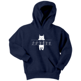 "Sign Language Hoodie ""Cat Lover"" Custom Youth Pullover ASL Hoodie"