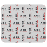 "ASL Merchandise ""Flag Letters"" Mouse Pad ASL Accessories"