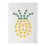 "ASL Stationery ""ILY Pineapple"" Paperback ASL Journal"