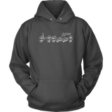 "Sign Language Hoodie ""Personalized"" Unisex Pullover ASL Hoodie"