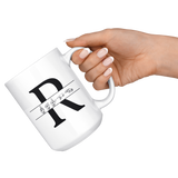 "Sign Language Mug ""Custom ASL"" White Ceramic ASL Coffee Mug"