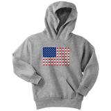 "Sign Language Hoodie ""Fish Flag"" Youth Pullover ASL Hoodie"