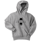 "Sign Language Hoodie ""Cat Lover"" Custom Youth Pullover ASL Hoodie 2"