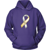 "Sign Language Hoodie ""Deaf Awareness"" Unisex Pullover ASL Hoodie"