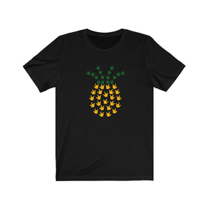"ASL Shirt ""ILY Pineapple"" Unisex Short Sleeve Sign Language T-Shirt"