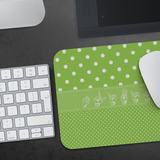 "ASL Merchandise ""Polka-Dots"" Mouse Pad ASL Accessories"