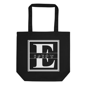 "ASL Bag ""Custom ASL"" 16x14.5 Organic ASL Tote Bag"