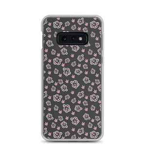 "Sign Language Phone Case ""ILY Floral"" ASL Samsung Case"