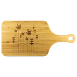 "ASL Merchandise ""ILY Sprout"" Etched Bamboo Cutting Board w/Handle"