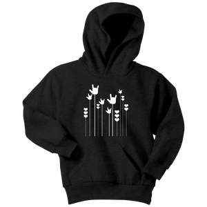 "Sign Language Hoodie ""ILY Sprout"" Youth Pullover ASL Hoodie"