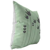 "ASL Home Decor ""ILY Sprout"" ASL Throw Pillow - Multiple Sizes"