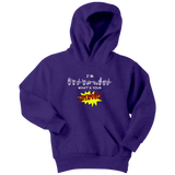 "Sign Language Hoodie ""I'm Bilingual"" Youth Pullover ASL Hoodie"