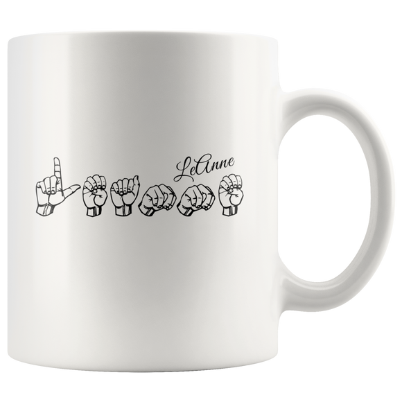 Sign Language Mug