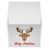 "Holiday ""ILY Rudolph"" ASL Christmas Cards"
